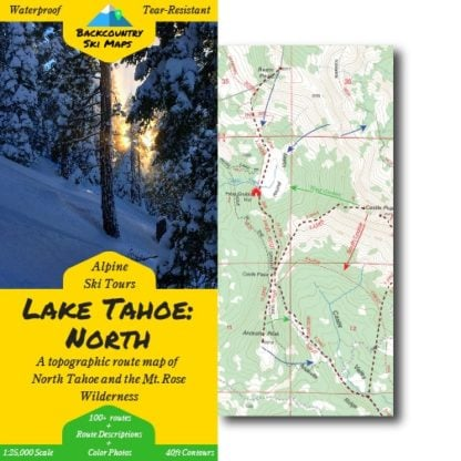 lake tahoe north ski map