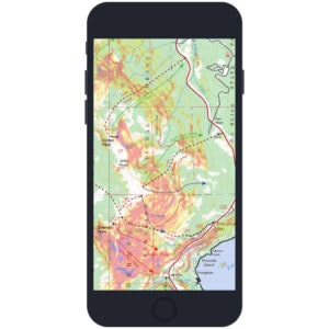 backcountry ski maps app