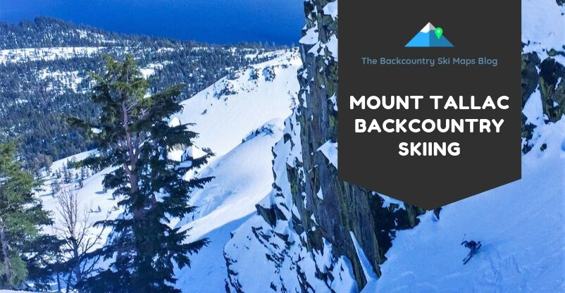 mt tallac backcountry skiing
