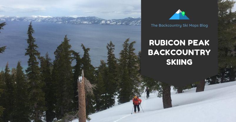 rubicon peak backcountry skiing