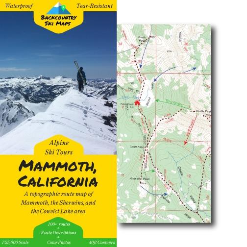 Mammoth backcountry ski touring